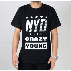 Camiseta Larga NYD WEAR Zen Black