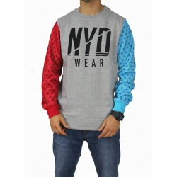 Sudadera NYD WEAR Franj Grey