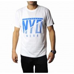 Camiseta NYD Icon White/blue