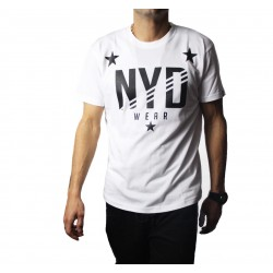 Camiseta Nyd wear Stars Man White