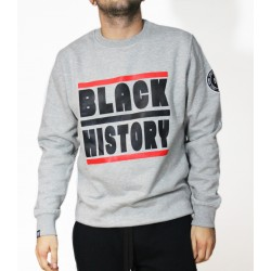 Sudadera Black History Grey
