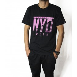 Camiseta NYD Icon Black/SoftRose