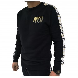 Sudadera Good Zebra Black/Gold