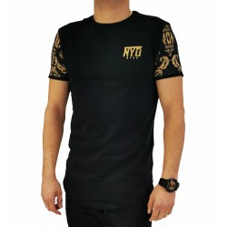 Camiseta Larga Orinesia Black